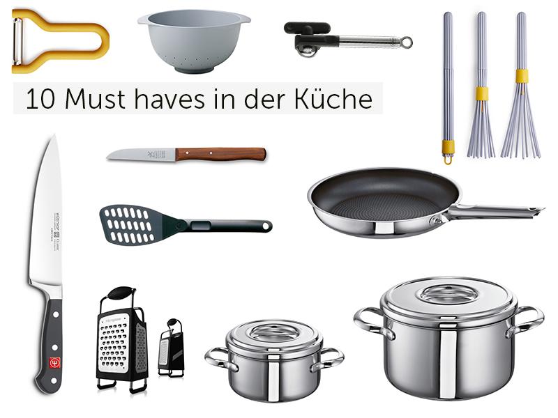 10 must-haves für die Küche - Essentielle Küchenhelfer