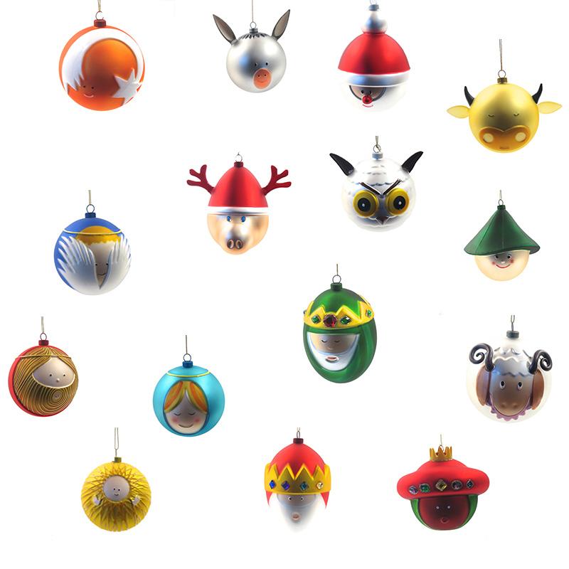 4 t r alessi weihnachtskugel esel bleywaren for Alessi weihnachtskugeln