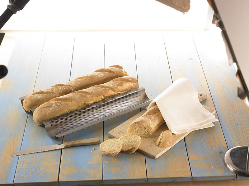 brot baguette selber backen machen backform 210141 mr. Black Bedroom Furniture Sets. Home Design Ideas