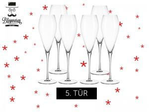 Avant-Advent-Kalender-Leonardo-Champagner-Kelche