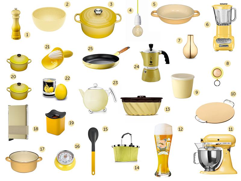 wir sind im gelbfieber gelbe k chenutensilien und accessoires bleywaren. Black Bedroom Furniture Sets. Home Design Ideas