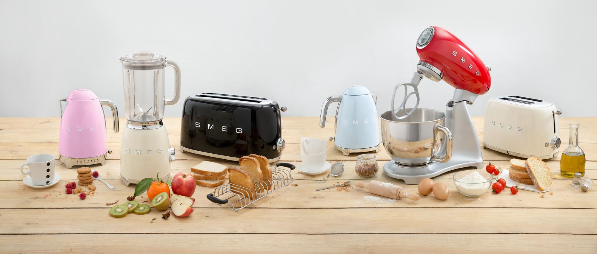 Küchengeräte von Smeg im Retro Gewand - Bleywaren