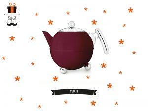 9-avant-advent-kalender-gewinnspiel-weihnachtsgewinnspie-bleywaren-onlineshop-bredemeijer-teekanne-bella-ronde-burgundy-rot-burgunder
